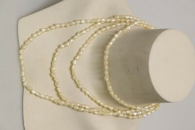 Necklace Chain Pearl with Real Silver Buckle Fine 1950er Fashion Jewelry