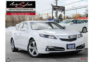 2012 Acura TL AWD ONLY 89K! **TECHNOLOGY PKG** CLEAN CARPROOF