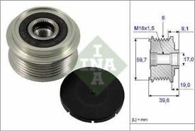 INA 535006510 Electrical Overrunning Clutch Alternator Pulley