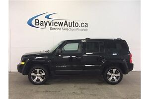 2016 Jeep PATRIOT HIGH ALTITUDE- 4x4! SUNROOF! LEATHER! NAV!