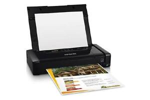 Epson WorkForce WF-100 Mobile Printer - Color - 5760 x 1440 dpi Print - Photo Print - Portable - 6.7 ppm Mono Print / 3.