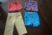 3 pairs of 4T shorts