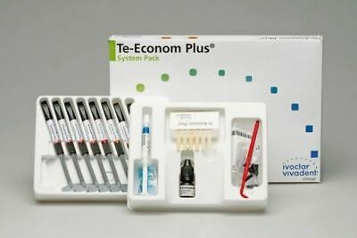 Dental Ivoclar Vivadent Teeconom Plus Light Cure Resin Composite System Fresh