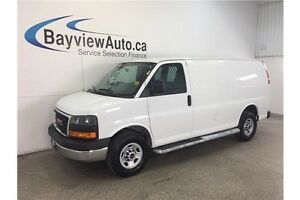 2015 GMC SAVANA 2500 - 4.8L VORTEC! A/C! CRUISE! CLEAN CARPROOF!
