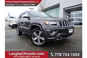 2015 Jeep Grand Cherokee Overland ACCIDENT FREE w/ DUAL HEADR...
