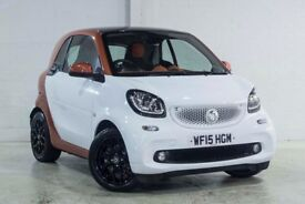 smart FORTWO COUPE EDITION1 T (white) 2015