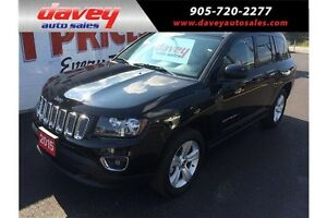2015 Jeep Compass Sport/North HIGH ALTITUDE, LEATHER, SUNROOF