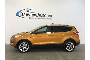 2016 Ford ESCAPE TITANIUM- 4WD! ECOBOOST! PANOROOF! NAV! BLIS!