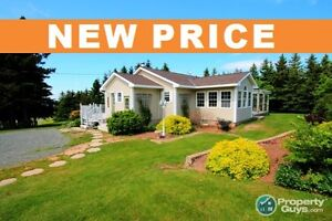 NEW PRICE! 4 Bed/2 Bath home in McArras Brook, on 40 acres