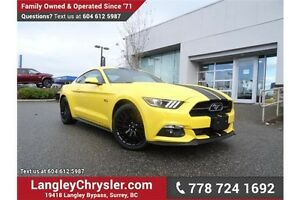 2015 Ford Mustang GT 50 Years Limited Edition LOWS KMS & ACCI...