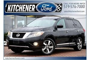 2013 Nissan Pathfinder 4WD/LEATHER/HTD SEATS/TOW PKG/NAVI/PWR...
