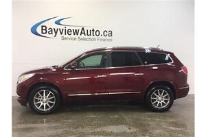 2016 Buick ENCLAVE - AWD! PANOROOF! LEATHER! NAV! 7 RIDER!