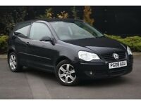2008 VW POLO 1.4 MATCH 80PS PETROL MANUAL 3dr 80k Miles, Lady Owner - inc AA Comprehensive Cover