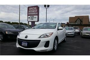 2012 Mazda 3 GX ALLOYS !!! CLEAN CAR PROOF NO ACCIDENTS !!!