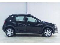 Dacia SANDERO STEPWAY LAUREATE TCE (black) 2015