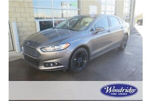2014 Ford Fusion SE AWD, LEATHER, BACKUP CAM, NAV