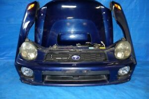JDM Subaru Impreza WRX Front End Conversion 2002 2003 Wagon