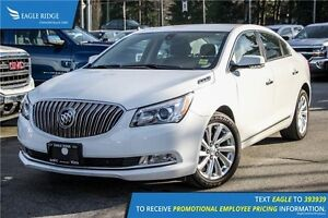 2016 Buick LaCrosse Leather Heated Seats and Backup Camera