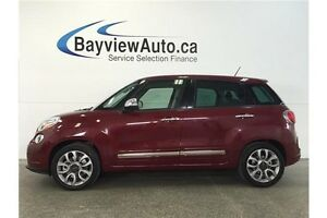 2015 Fiat 500L LOUNGE- PANOROOF! TURBO! LEATHER! NAV! BLUETOOTH!