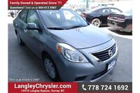 2014 Nissan Versa 1.6 SV w/ Power Accessories & A/C Delta/Surrey/Langley Greater Vancouver Area Preview