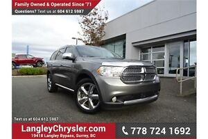 2012 Dodge Durango Citadel W/ AWD, NAVIGATION & ENTERTAINMENT...