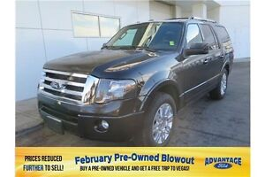 2014 Ford Expedition Limited Nav. Moonroof. Trailer Tow.