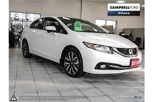 2014 Honda Civic Touring 42,000 KMS--TOP OF LINE-LOADED