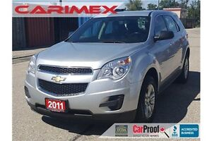 2011 Chevrolet Equinox LS LS   Bluetooth   CERTIFIED + E-Tested Kitchener / Waterloo Kitchener Area image 1