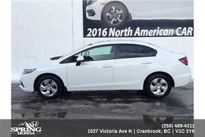 2013 Honda Civic LX $95 Bi-Weekly