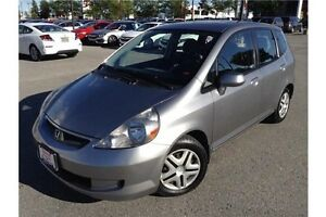 2007 HONDA FIT LX - AUTOMATIC TRANSMISSION - CLOTH INTERIOR