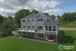 Elevated view of Antigonish Harbour. Executive 5 bed/3.5 bath