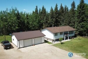Immaculate home on 154.5 acres just outside town of Valleyview