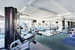 2 Bdr, pool, gym, balcony, old port downtown Montreal