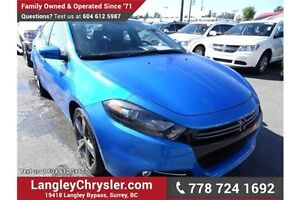 2016 Dodge Dart GT w/LEATHER &  NAVIGATION