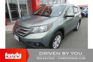 2012 Honda CR-V EX LOW MILEAGE - LOWEST FUEL CONSUMPTION SUV!