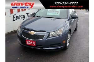 2014 Chevrolet Cruze 2LS BLUETOOTH, SATELLITE RADIO, TINTED W...