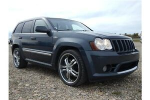 2008 Jeep Grand Cherokee SRT8, DUB rims, Rear DVD, FAAAAST!