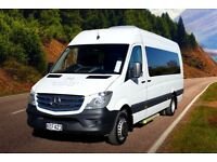 GOLDEN EAGLE TRAVEL MINIBUS HIRE - 9-16 PASSENGERS BRADFORD / WEST YORKSHIRE