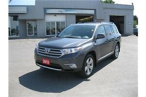 2013 Toyota Highlander V6 Kingston Kingston Area image 1