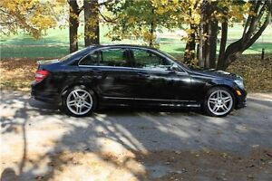 2009 Mercedes-Benz C-Class   AWD 4Matic   CERTIFIED Kitchener / Waterloo Kitchener Area image 6