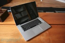 Macbook Pro 500 GB hd, 4 gb Ram . have scratches but in full working order . Works great