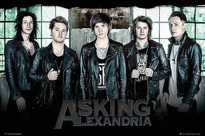 Asking Alexandria   Music Poster   Print  The Guys   Window   Size  24  X 36