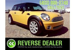 2008 Mini Cooper ***Heated seats, Extra tires on Rims***