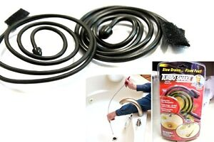 Turbo Snake Fast Hair Unclogger Removal Cleaner Tool