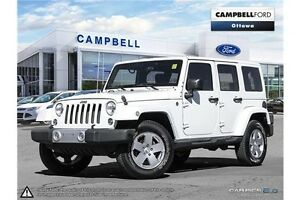 2011 Jeep WRANGLER UNLIMITED Sahara 4X4--TWO TOPS-LOADED