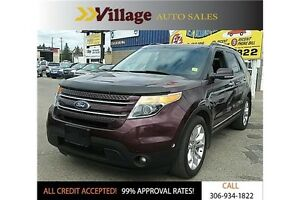 2011 Ford Explorer Limited Leather Interior, Heated Seats, Pa...