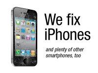 SAME DAY iPhone 6 5C 6S Screen Glass Repair iPad MacBook Laptop Water Damage PS3 Repair Shop Glasgow