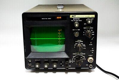 Vintage Bk Precision Model 1440 Ac Dc Power Supply Oscilloscopes