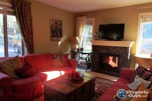 Beautifully appointed ground floor corner condo in Canmore