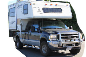 2003 Ford F-350 Lariat Loaded with Arctic Fox Camper